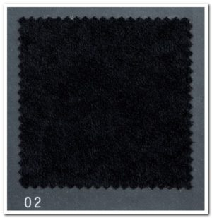 Microfibre Black 102 for dust cover