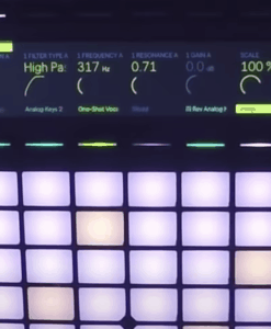 Ableton Push 2 cover